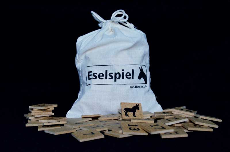 Eselspiel Holz